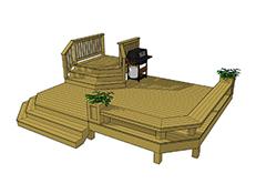 Patio deck installations